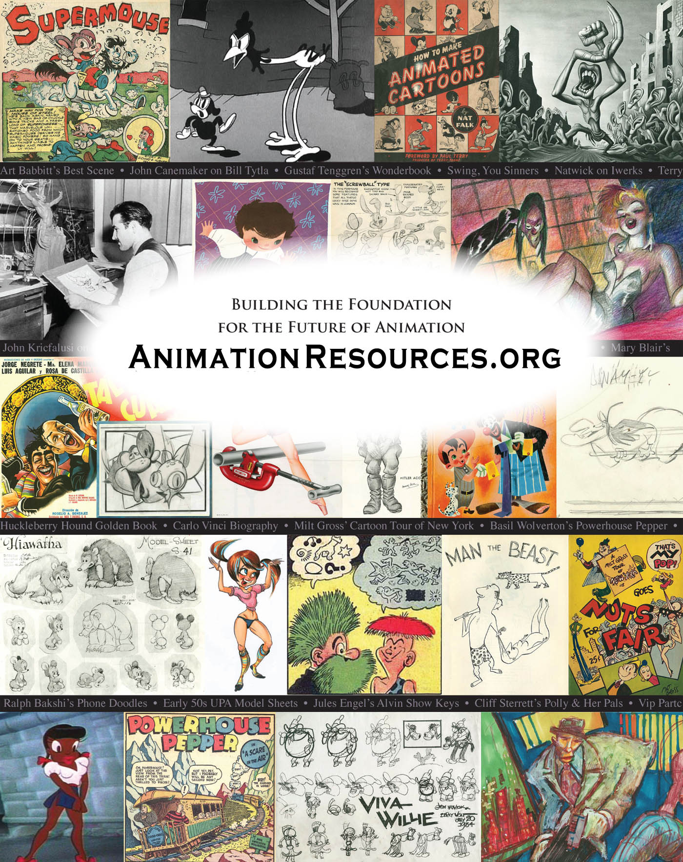 About The Animation Archive Project - AnimationResources org