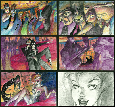 Storyboard by Louise Zingarelli