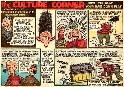 Basil Wolverton Culture Corner