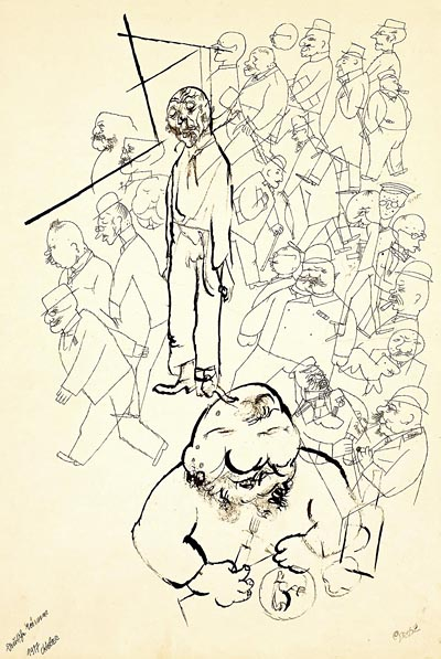 George Grosz Caricatures