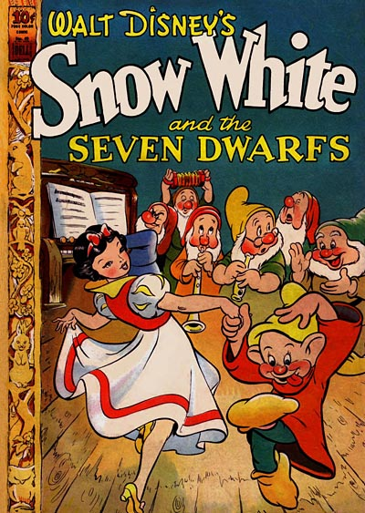 Snow White Comic Book