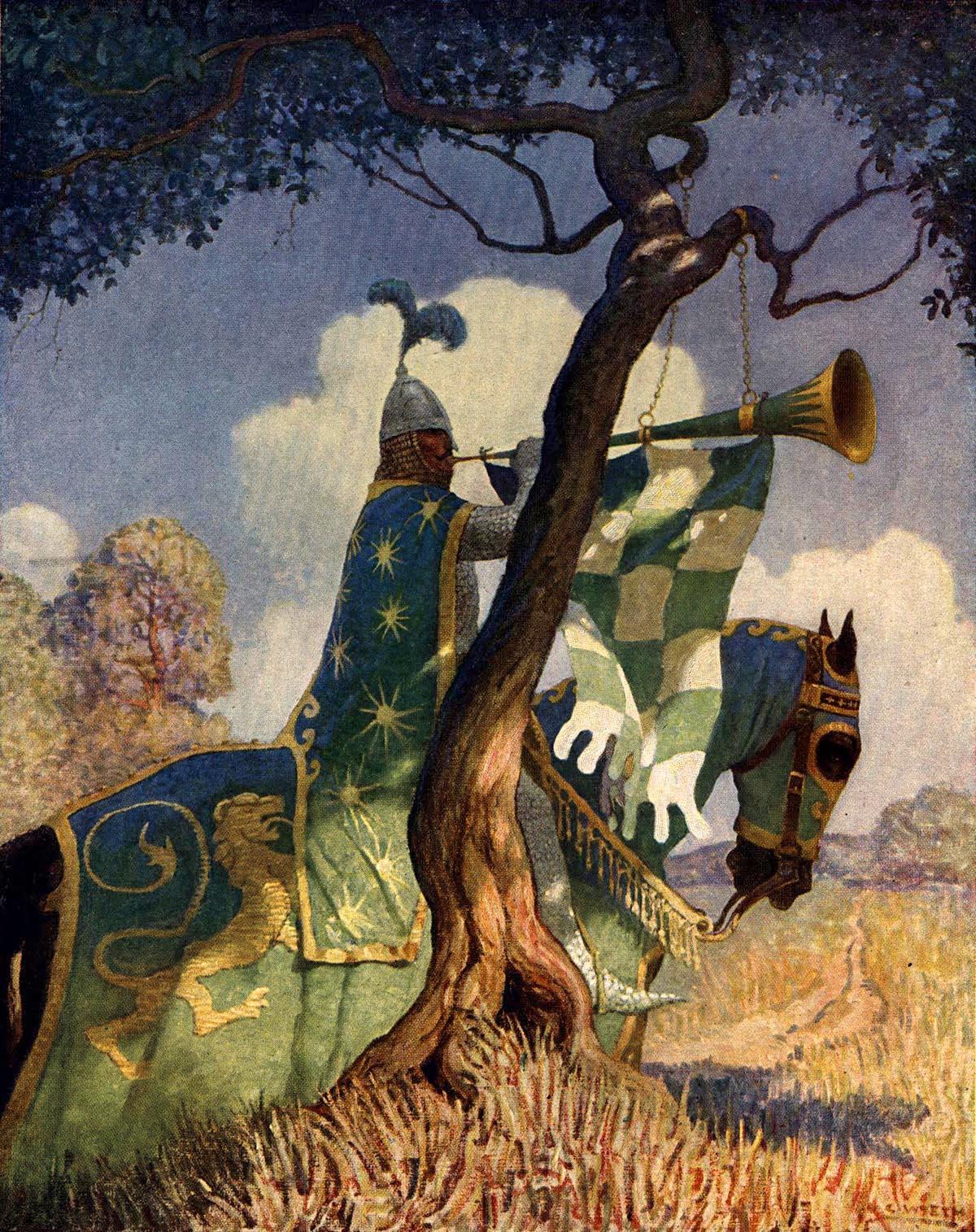 inbetweens boy u0027s king arthur by n c wyeth animationresources