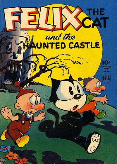Felix the Cat Comic Book Cover