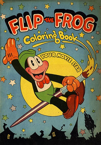 Flip the Frog Coloring Book