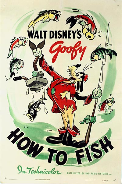 Goofy in How To Fish