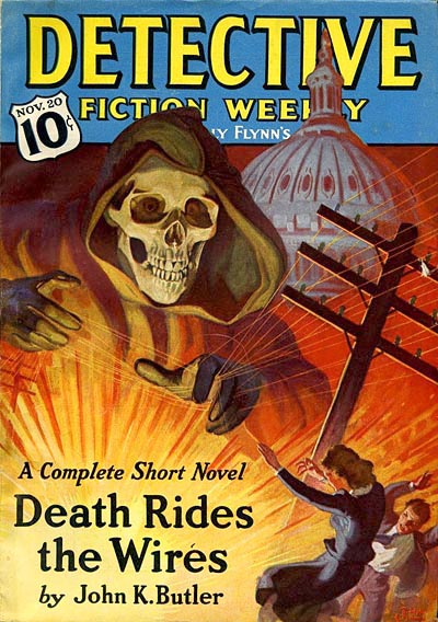 Pulp Magazine Covers