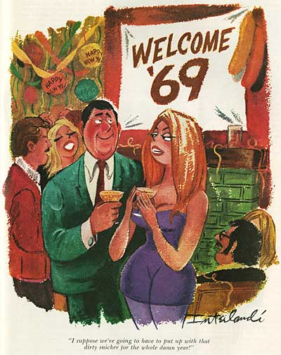 Phil Interlandi Playboy Cartoonist