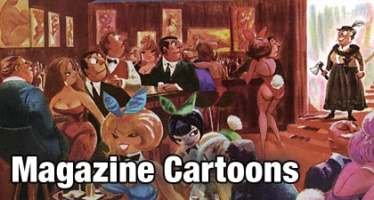 Magazine Cartoons