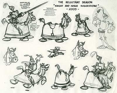 Disney Model Sheet