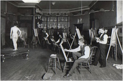 National Academy of Design in the 20s