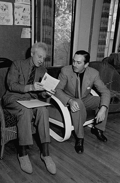Leopold Stokowski and Walt Disney