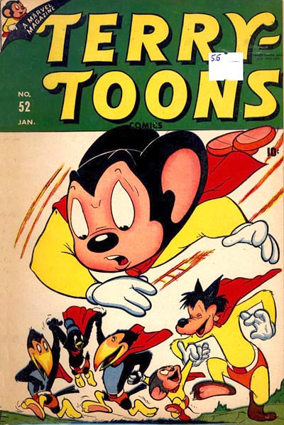 Terrytoons Comic Book Cover