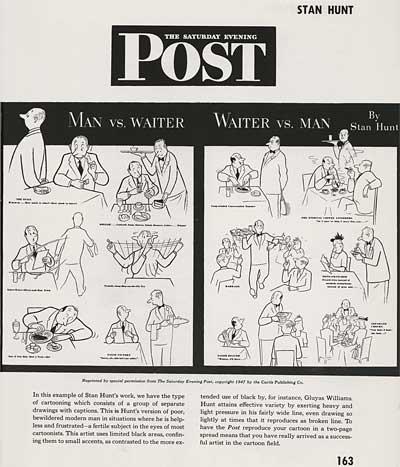Magazine Illustration by Stan Hunt