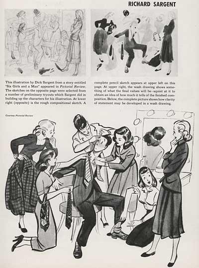 Magazine Illustration by Richard Sargent