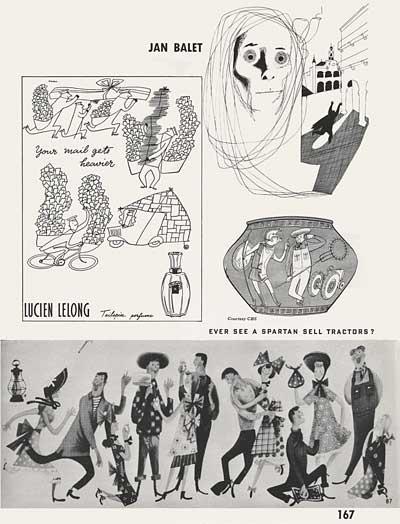 Magazine Illustration by Jan Balet