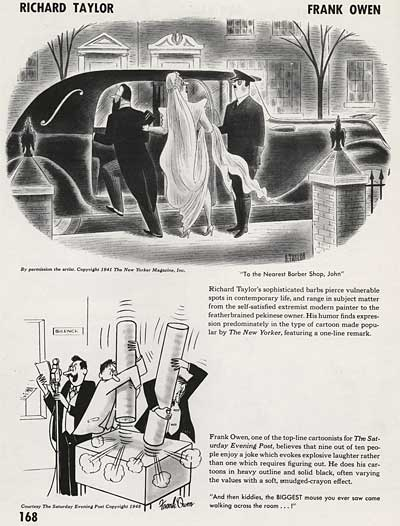 Magazine Illustration by Richard Taylor and Frank Owen