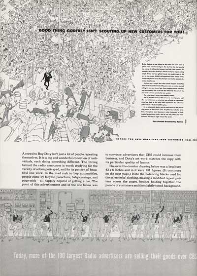 Magazine Illustration by Roy Doty and Jan Balet