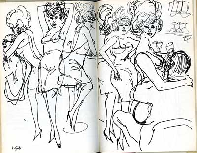 Searle's Secret Sketchbook