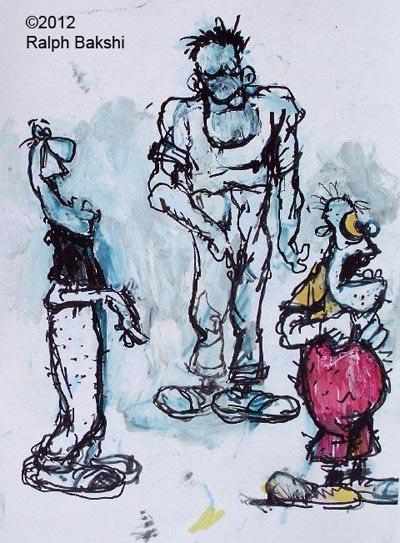Bakshi Doodles