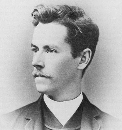 Eugene Zimmerman in 1896